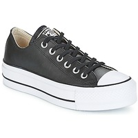Scarpe Donna Sneakers basse Converse CHUCK TAYLOR ALL STAR LIFT CLEAN OX Nero / Bianco