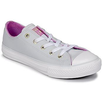 Scarpe Bambina Sneakers alte Converse CHUCK TAYLOR ALL STAR HI Pure / Acciaio / anice  / Fucsia / Glow / White
