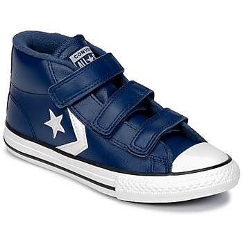 Scarpe Unisex bambino Sneakers alte Converse STAR PLAYER 3V MID Navy / Blue / Vintage / White