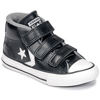 Scarpe Unisex bambino Sneakers alte Converse STAR PLAYER 3V MID Black / Vintage / White