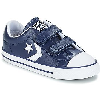 Scarpe Unisex bambino Sneakers basse Converse STAR PLAYER EV V OX Navy / White