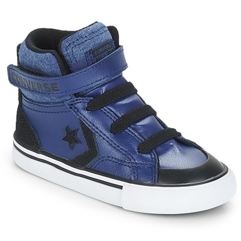 Scarpe Bambino Sneakers alte Converse PRO BLAZE STRAP HI Blu