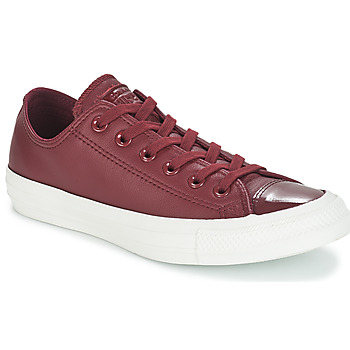 Scarpe Donna Sneakers basse Converse CHUCK TAYLOR ALL STAR LEATHER OX Bordeaux