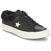 Scarpe Donna Sneakers basse Converse ONE STAR LEATHER OX Nero