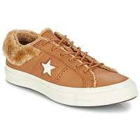Scarpe Donna Sneakers basse Converse ONE STAR LEATHER OX Camel