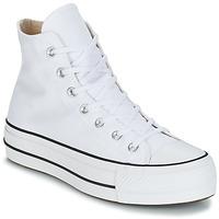 Scarpe Donna Sneakers alte Converse CHUCK TAYLOR ALL STAR LIFT CANVAS HI Bianco