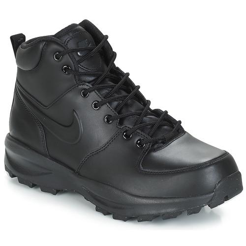 quality design 9a72d 3c822 Scarpe Uomo Stivaletti Nike MANOA LEATHER BOOT Nero