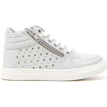 Scarpe Bambina Sneakers alte Syssy 613302 Argento