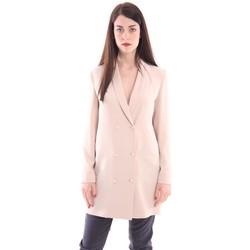 Abbigliamento Donna Giacche White.7 GIACCA FIT BEIGE DOPPIO PETTO Beige