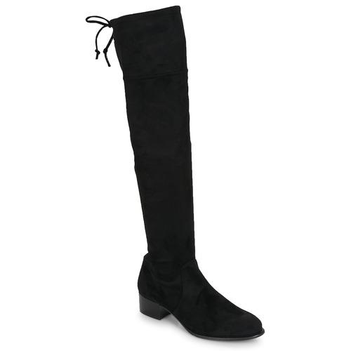 Betty London JAZUMI Nero  Scarpe Stivali a metà coscia Donna 89