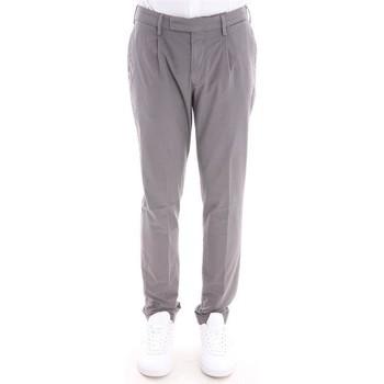 Abbigliamento Uomo Pantaloni Devore Incipit PANTALONE DEVORE  GRIGIO IN COTONE STRETCH Grey