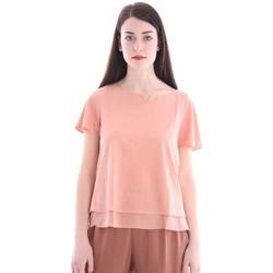Abbigliamento Donna T-shirt & Polo White.7 T-SHIRT ROSA PESCO Pink