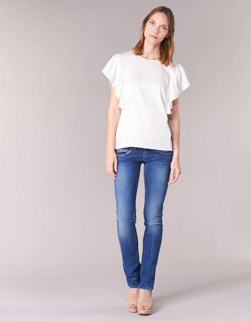Abbigliamento Donna Jeans dritti Pepe jeans VENUS Blu / Medium