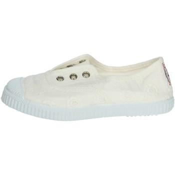 Scarpe Unisex bambino Sneakers basse Cienta 70998 BIANCO