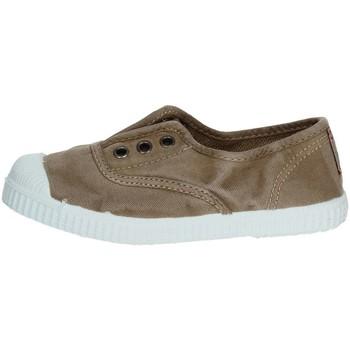 Scarpe Unisex bambino Sneakers basse Cienta 70777 Sneakers Bassa Bambino TAUPE TAUPE