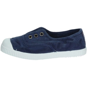 Scarpe Unisex bambino Sneakers basse Cienta 70777 BLU