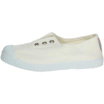 Scarpe Unisex bambino Sneakers basse Cienta 70997 BIANCO