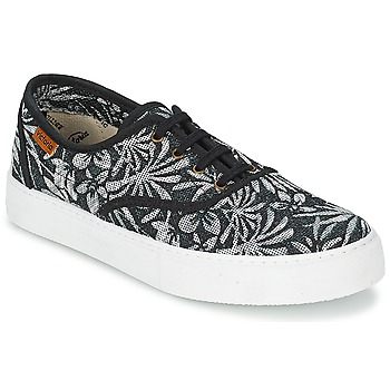 Scarpe Donna Sneakers basse Victoria INGLES ESTAP HOJAS TROPICAL Nero