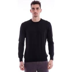 Abbigliamento Uomo T-shirt & Polo M.marte MAGLIA GIROCOLLO NERO Black