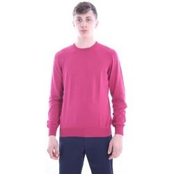 Abbigliamento Uomo T-shirt & Polo M.marte MAGLIA BORDEAUX GIROCOLLO Red