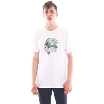 Abbigliamento Uomo T-shirt maniche corte Hurley T-SHIRT BIANCA CON STAMPA White