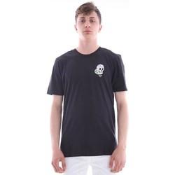 Abbigliamento Uomo T-shirt maniche corte Hurley T-SHIRT NERA STAMPA TESCHIO Black