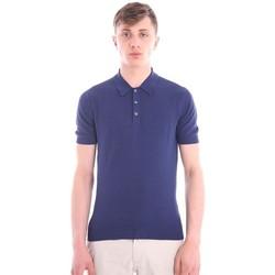 Abbigliamento Uomo Polo maniche corte M.marte POLO BLU Blue