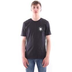 Abbigliamento Uomo T-shirt maniche corte Hurley T-SHIRT NERA GRAFICA WOLF Black