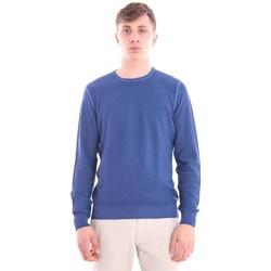 Abbigliamento Uomo Maglioni M.marte MAGLIA GIROCOLLO BLU Blue