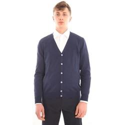Abbigliamento Uomo Maglioni M.marte CARDIGAN BLU Blue