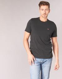 Abbigliamento Uomo T-shirt maniche corte Levi's SS ORIGINAL HM TEE Nero