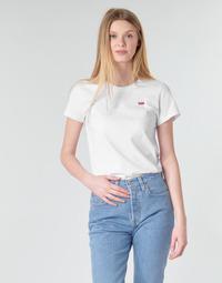 Abbigliamento Donna T-shirt maniche corte Levi's PERFECT TEE Bianco