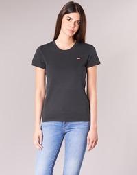 Abbigliamento Donna T-shirt maniche corte Levi's PERFECT TEE Nero