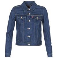 Abbigliamento Donna Giacche in jeans Levi's ORIGINAL TRUCKER Blu
