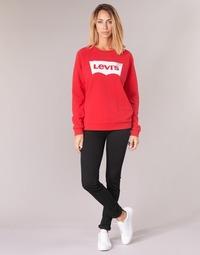 Abbigliamento Donna Jeans skynny Levi's 711 SKINNY Black