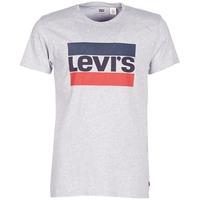 Abbigliamento Uomo T-shirt maniche corte Levi's SPORTSWEAR LOGO GRAPHIC Grigio