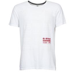 Abbigliamento Uomo T-shirt maniche corte G-Star Raw RITZIEN Bianco