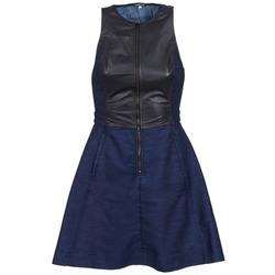 Abbigliamento Donna Abiti corti G-Star Raw SUTZIL DRESS MARINE / Nero