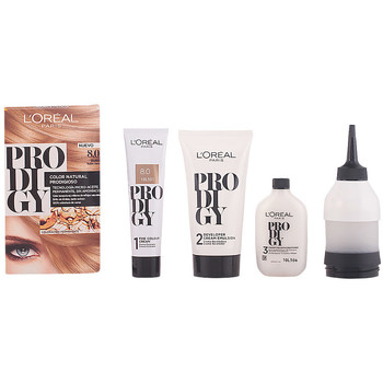 Bellezza Donna Accessori per capelli L'oréal Prodigy Coloración Permanente 8-duna 4 Pz 4 u