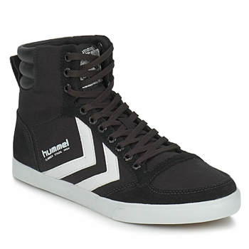 Scarpe Sneakers alte Hummel TEN STAR HIGH CANVAS Nero / Bianco
