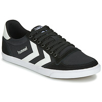 Scarpe Sneakers basse Hummel TEN STAR LOW CANVAS Nero / Bianco