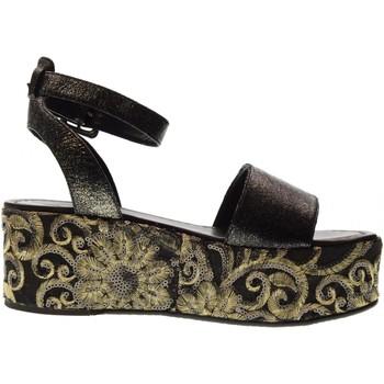 Scarpe Donna Sandali Cris Vergre' scarpe donna sandali H0802X NERO Pelle