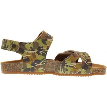 Scarpe Unisex bambino Sandali Gold Star scarpe junior sandalo 8845N TORTORA Pelle