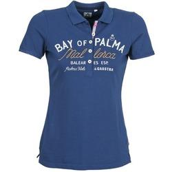 Abbigliamento Donna Polo maniche corte Gaastra MISTY Blu
