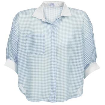 Abbigliamento Donna Camicie Brigitte Bardot AMARANTE Blu / Bianco
