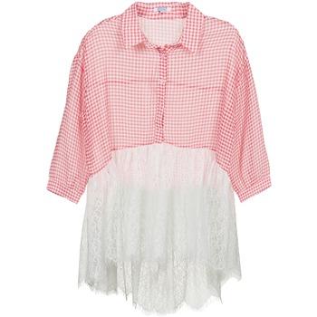 Abbigliamento Donna Camicie Brigitte Bardot AMBRE Rosso / Bianco
