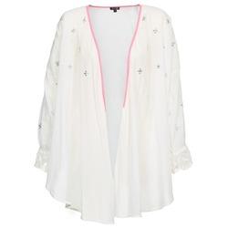 Abbigliamento Donna Gilet / Cardigan Brigitte Bardot APOLLINE Bianco