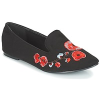 Scarpe Donna Mocassini Moony Mood JASMINY Nero / Fleur