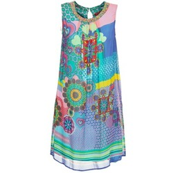 Abbigliamento Donna Abiti corti Derhy BARDE Blu / Verde / Multicolore