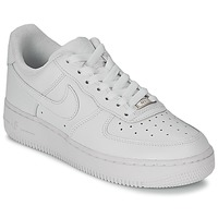 Scarpe Donna Sneakers basse Nike AIR FORCE 1 07 LEATHER W Bianco